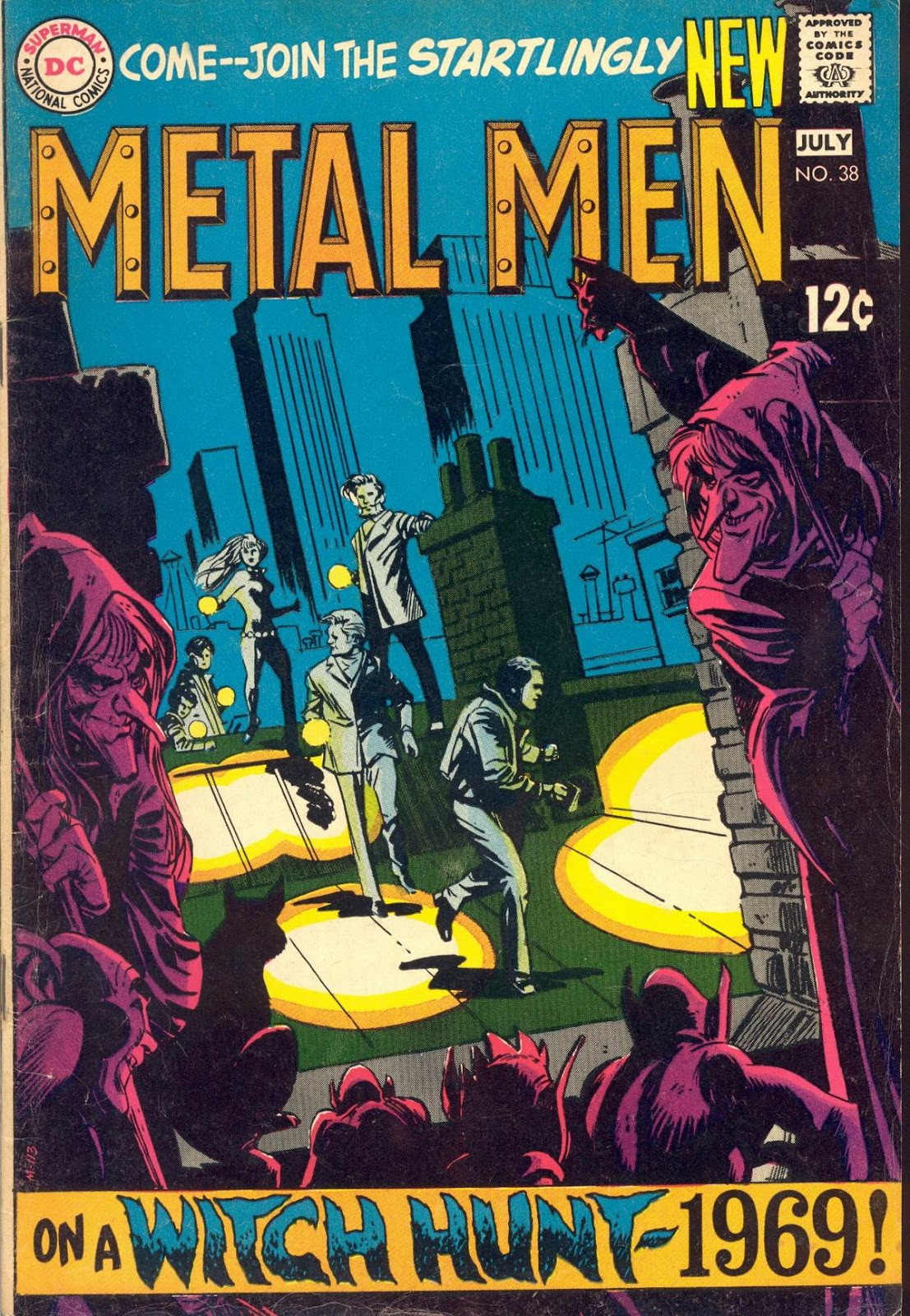 Metal Men (1963) issue 38 - Page 1
