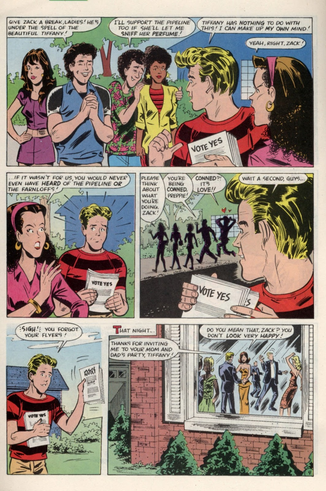 Read online Saved By The Bell comic -  Issue #4 - 14