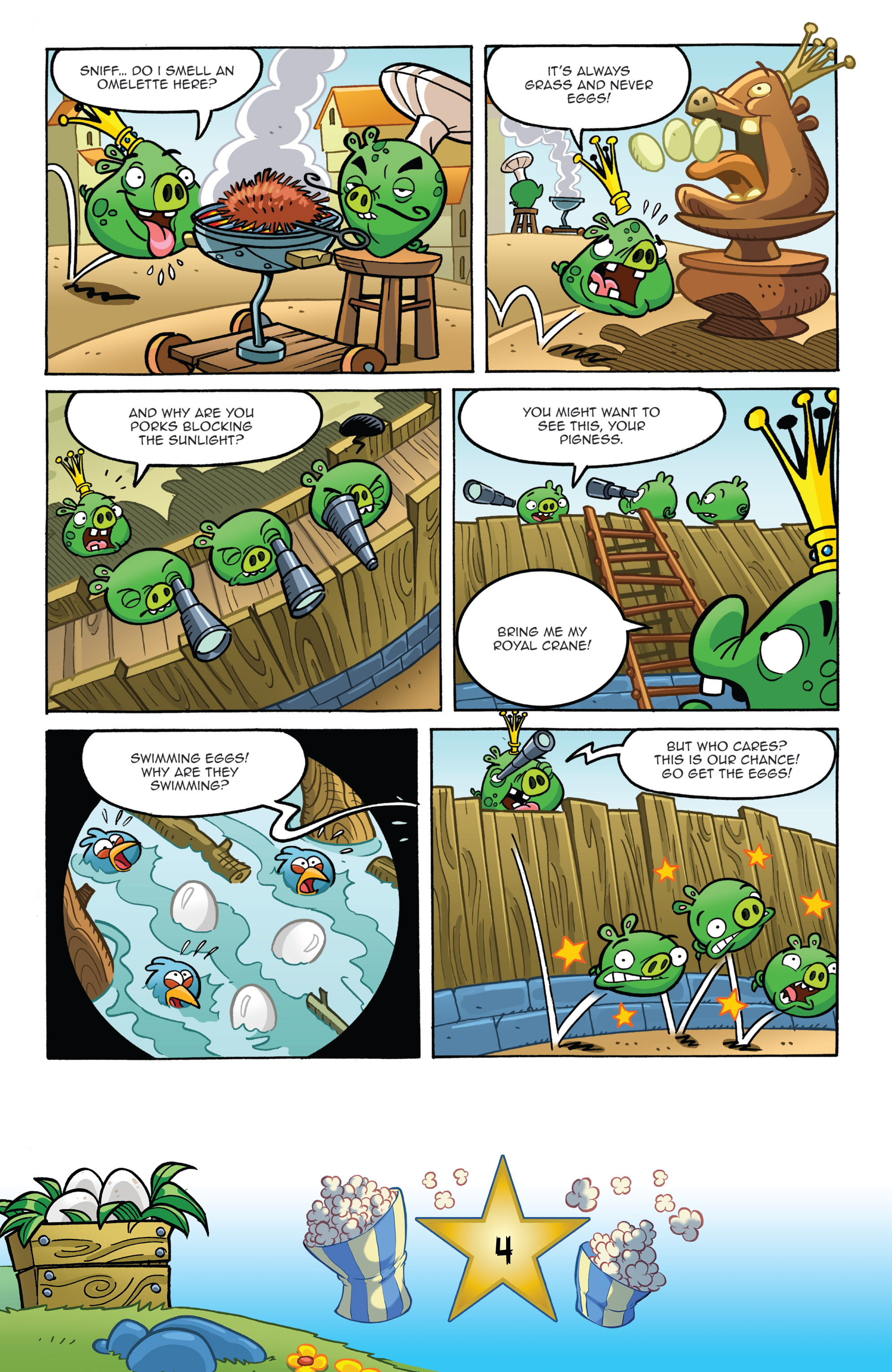 Read online Angry Birds Comics (2016) comic -  Issue #5 - 6