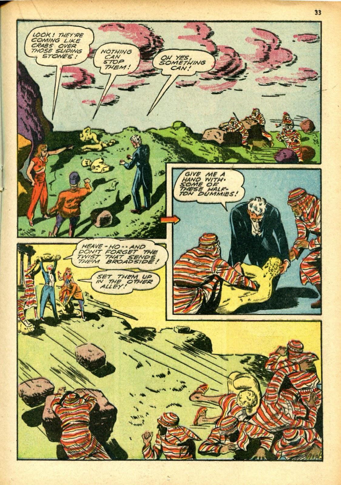Read online Super-Magician Comics comic -  Issue #12 - 33