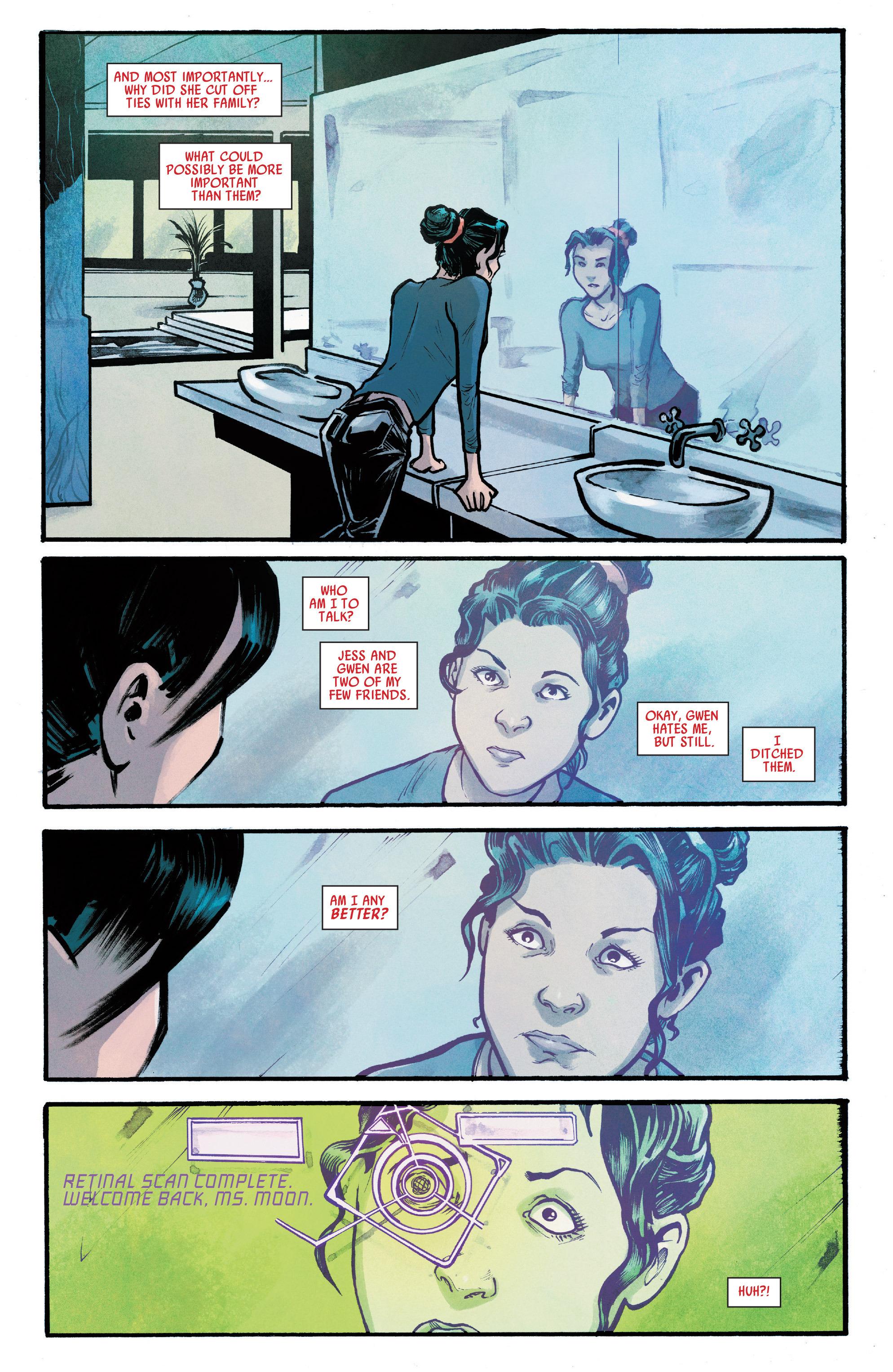Read online Silk (2016) comic -  Issue #7 - 15