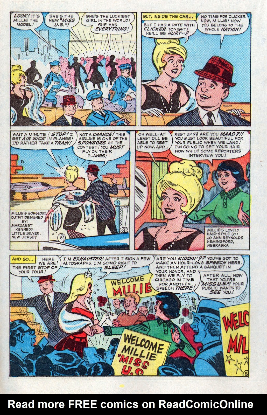 Read online Millie the Model comic -  Issue # Annual 6 - 52