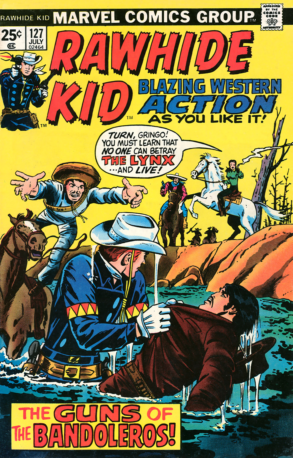 The Rawhide Kid (1955) issue 127 - Page 1