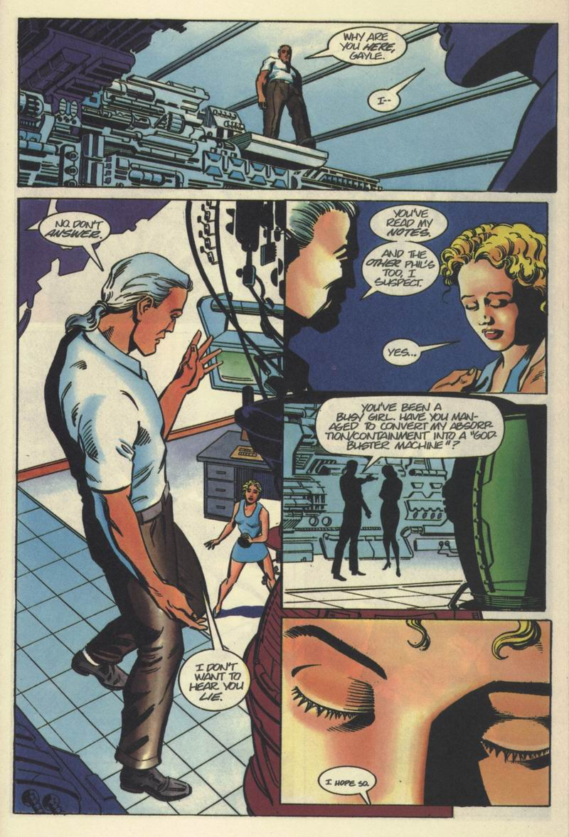 Read online Solar, Man of the Atom comic -  Issue #40 - 13
