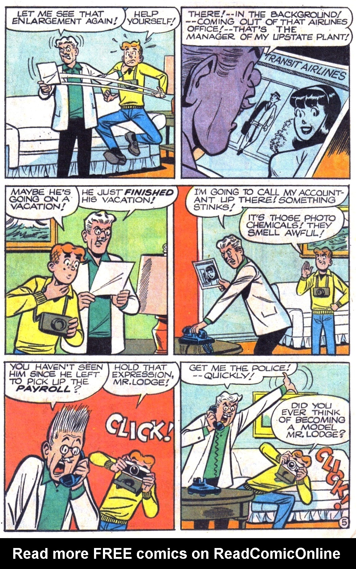 Read online Archie (1960) comic -  Issue #180 - 17