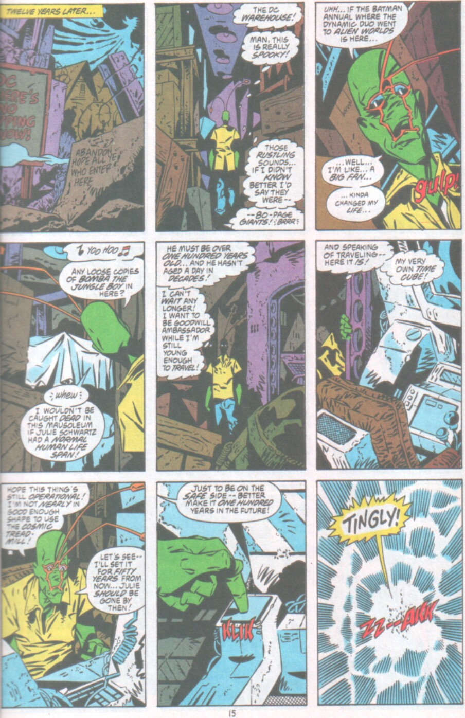 Read online Ambush Bug Nothing Special comic -  Issue # Full - 16