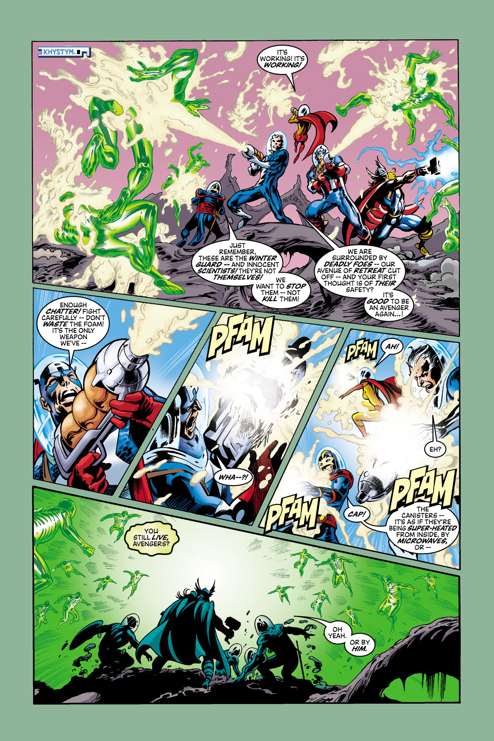 Read online Avengers (1998) comic -  Issue #43 - 12