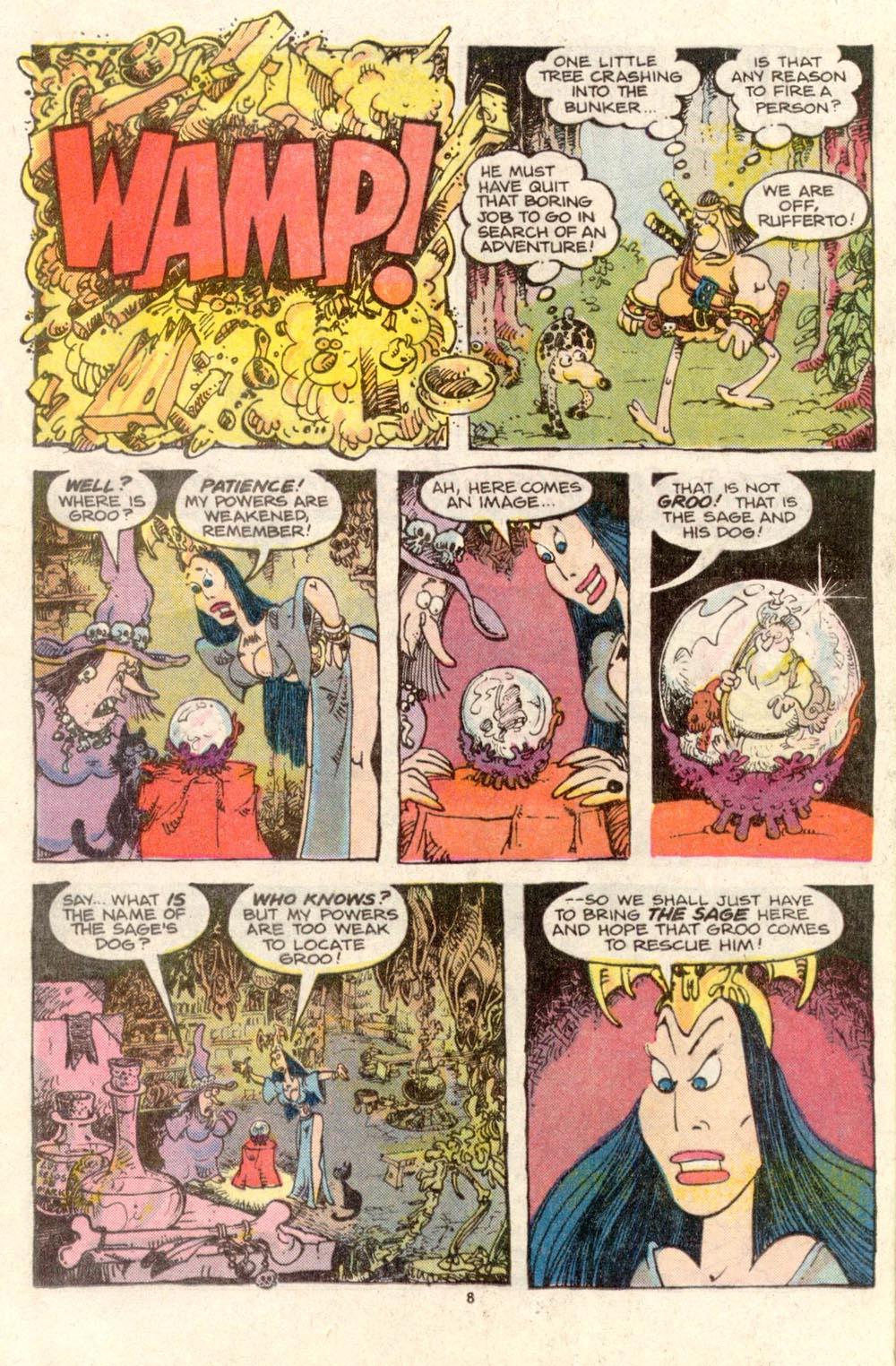 Read online Sergio Aragonés Groo the Wanderer comic -  Issue #34 - 8
