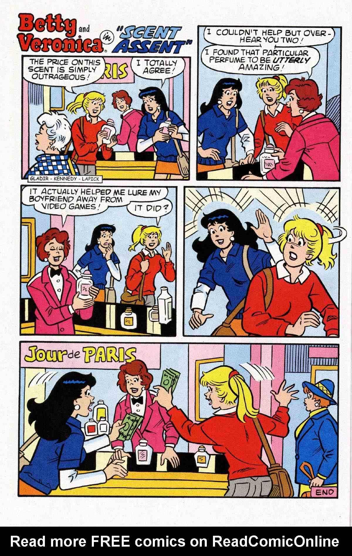 Read online Archie's Girls Betty and Veronica comic -  Issue #183 - 22