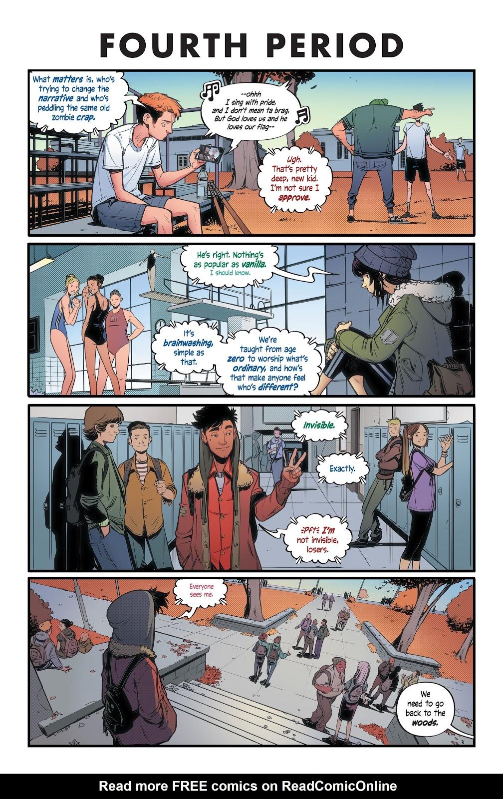 Read online Alienated comic -  Issue #1 - 17