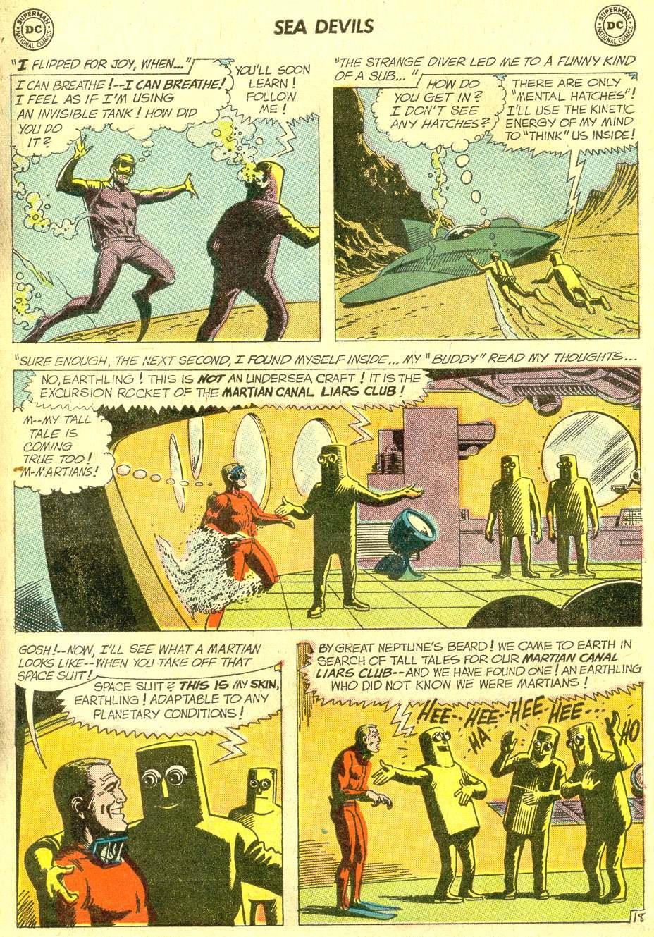 Read online Sea Devils comic -  Issue #10 - 26