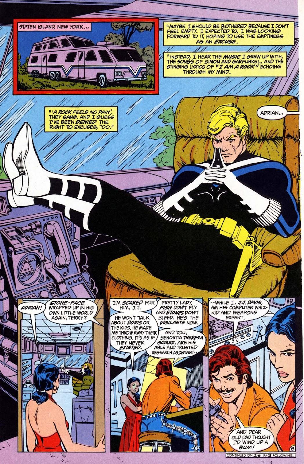 Vigilante (1983) issue 1 - Page 9