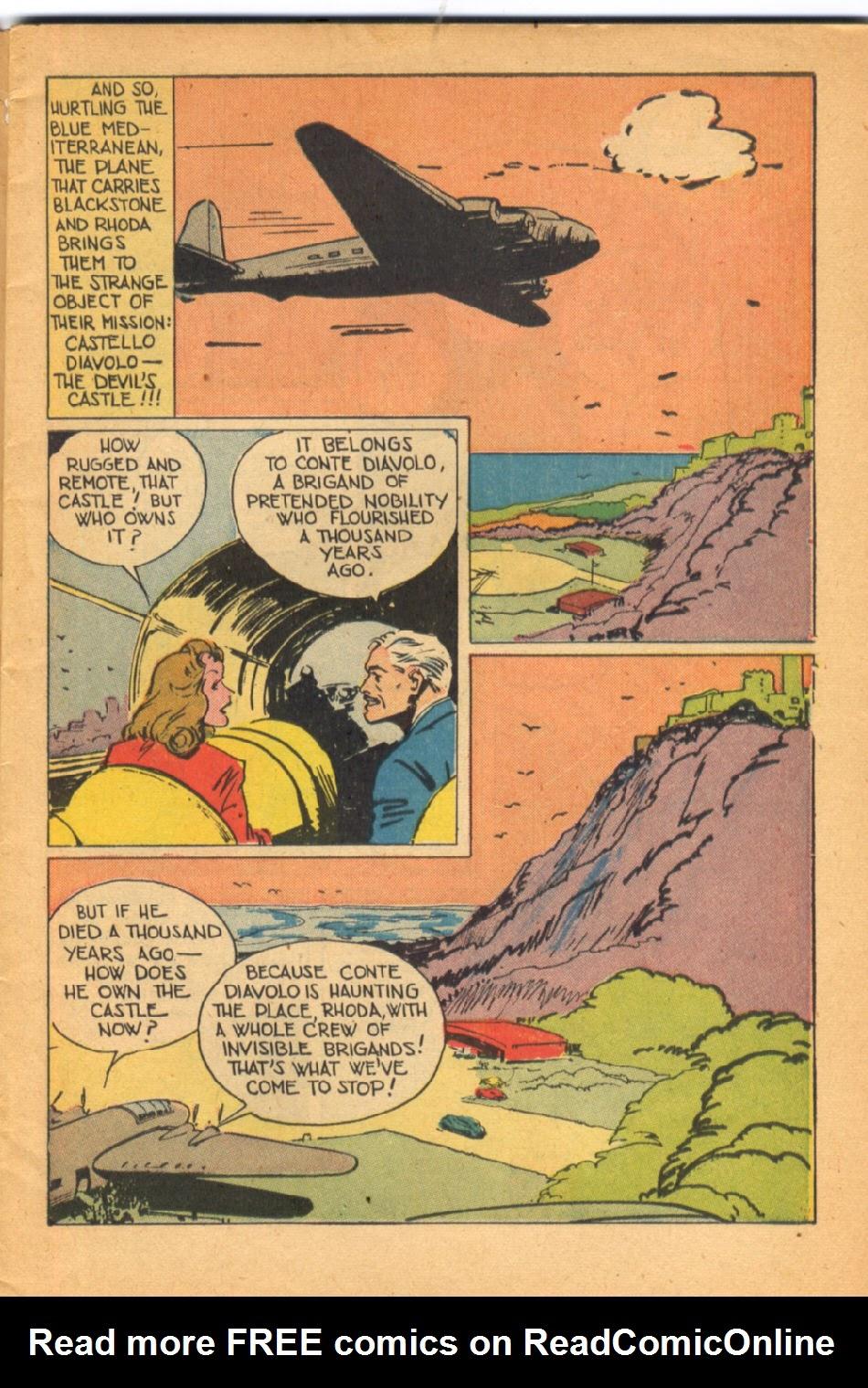 Read online Super-Magician Comics comic -  Issue #38 - 5