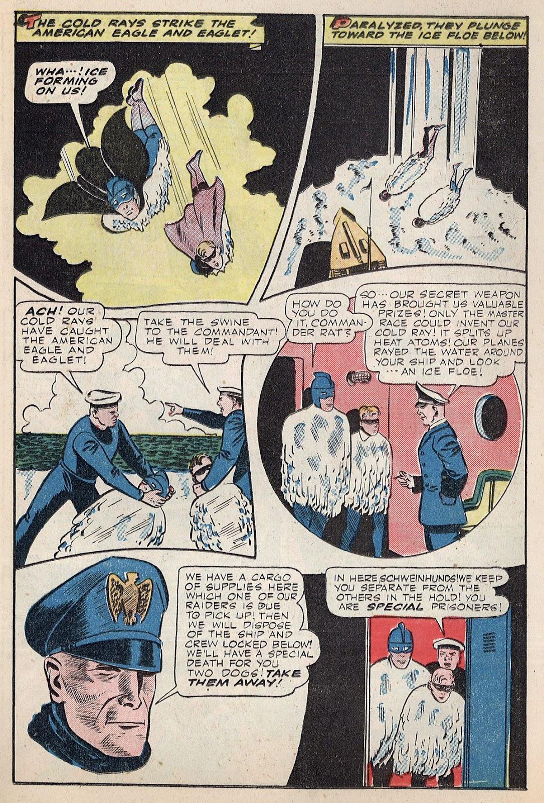 Exciting Comics (1940) issue 38 - Page 19