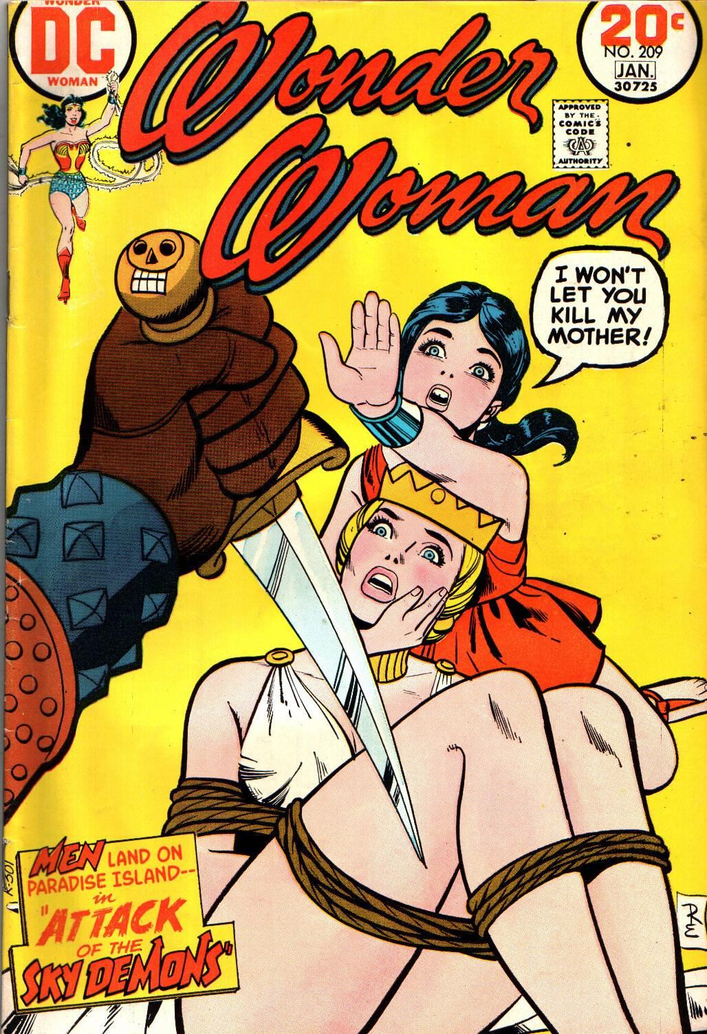 Read online Wonder Woman (1942) comic -  Issue #209 - 1