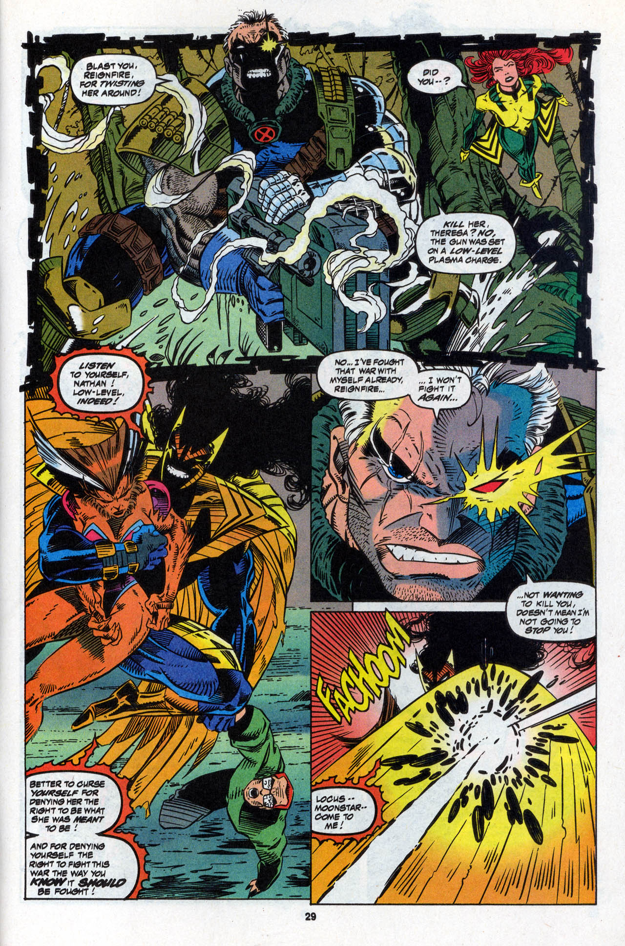 Read online X-Force (1991) comic -  Issue #28 - 29