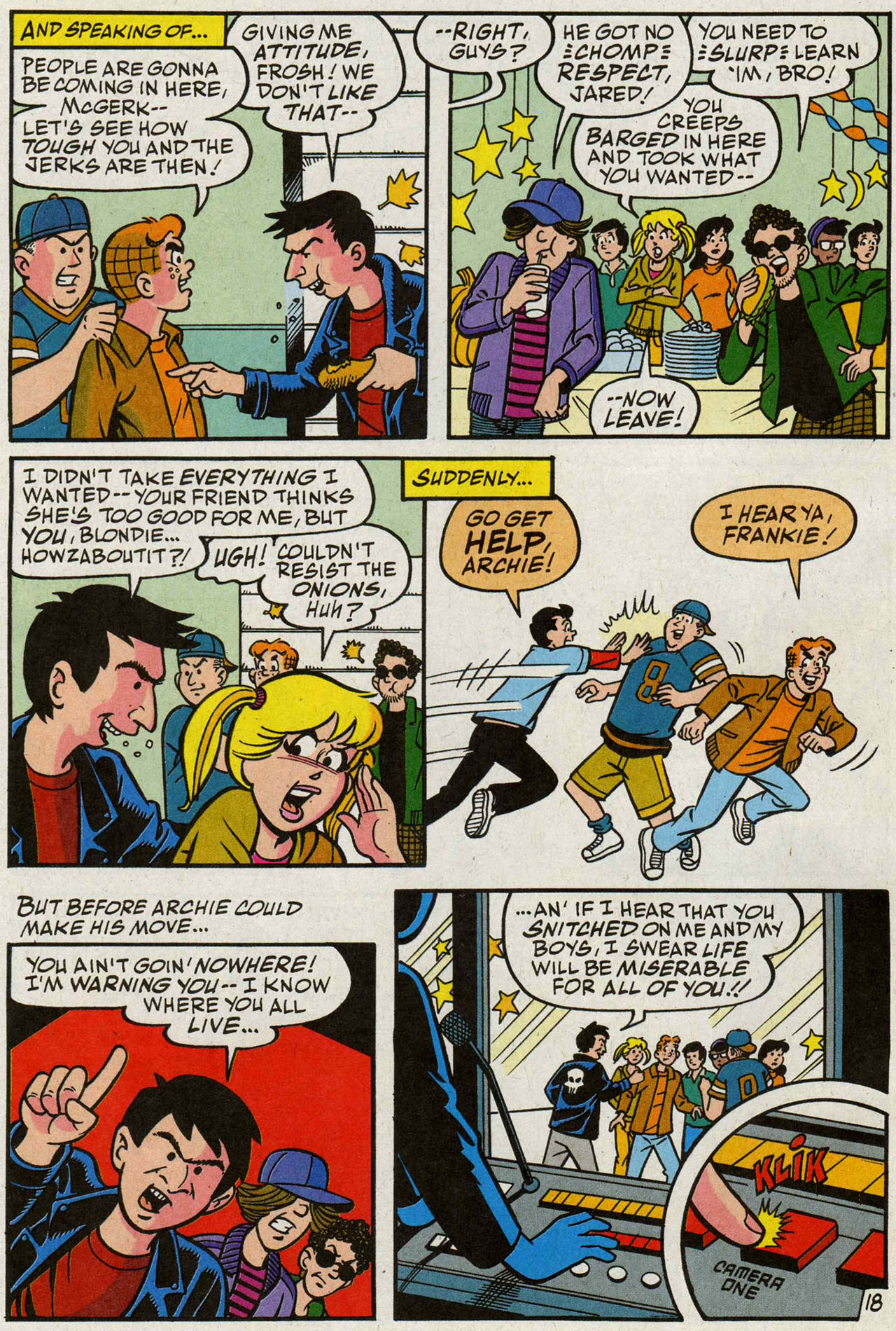 Read online Archie (1960) comic -  Issue #588 - 19