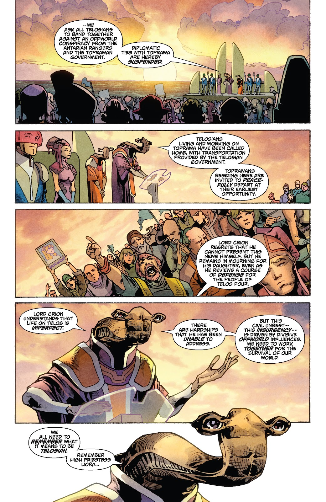 Read online Star Wars Legends: Rise of the Sith - Epic Collection comic -  Issue # TPB 1 (Part 2) - 70