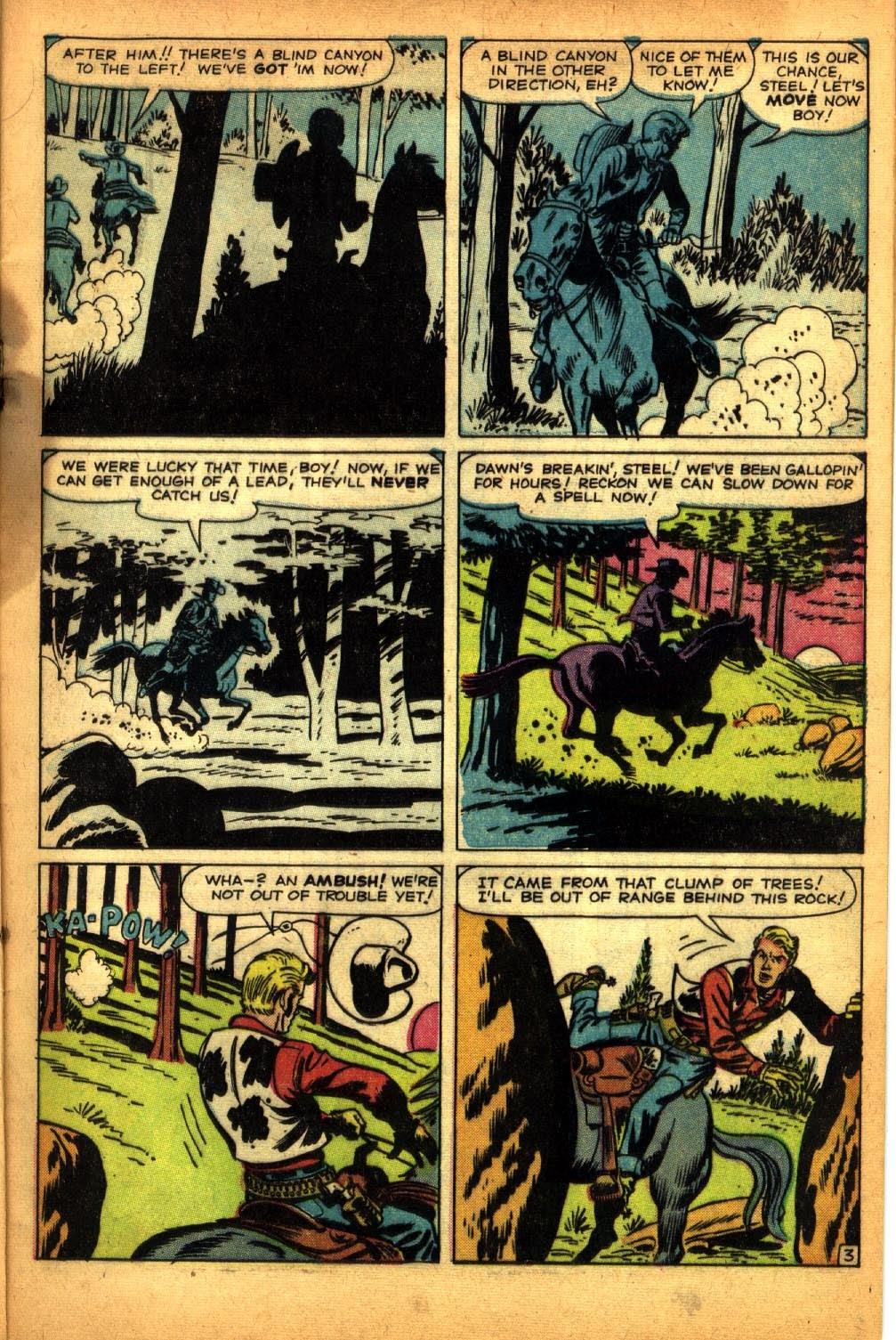 Gunsmoke Western issue 64 - Page 5