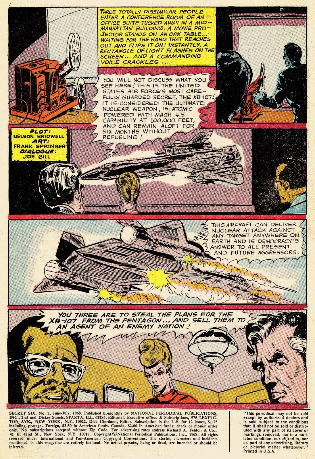 Secret Six (1968) issue 2 - Page 3