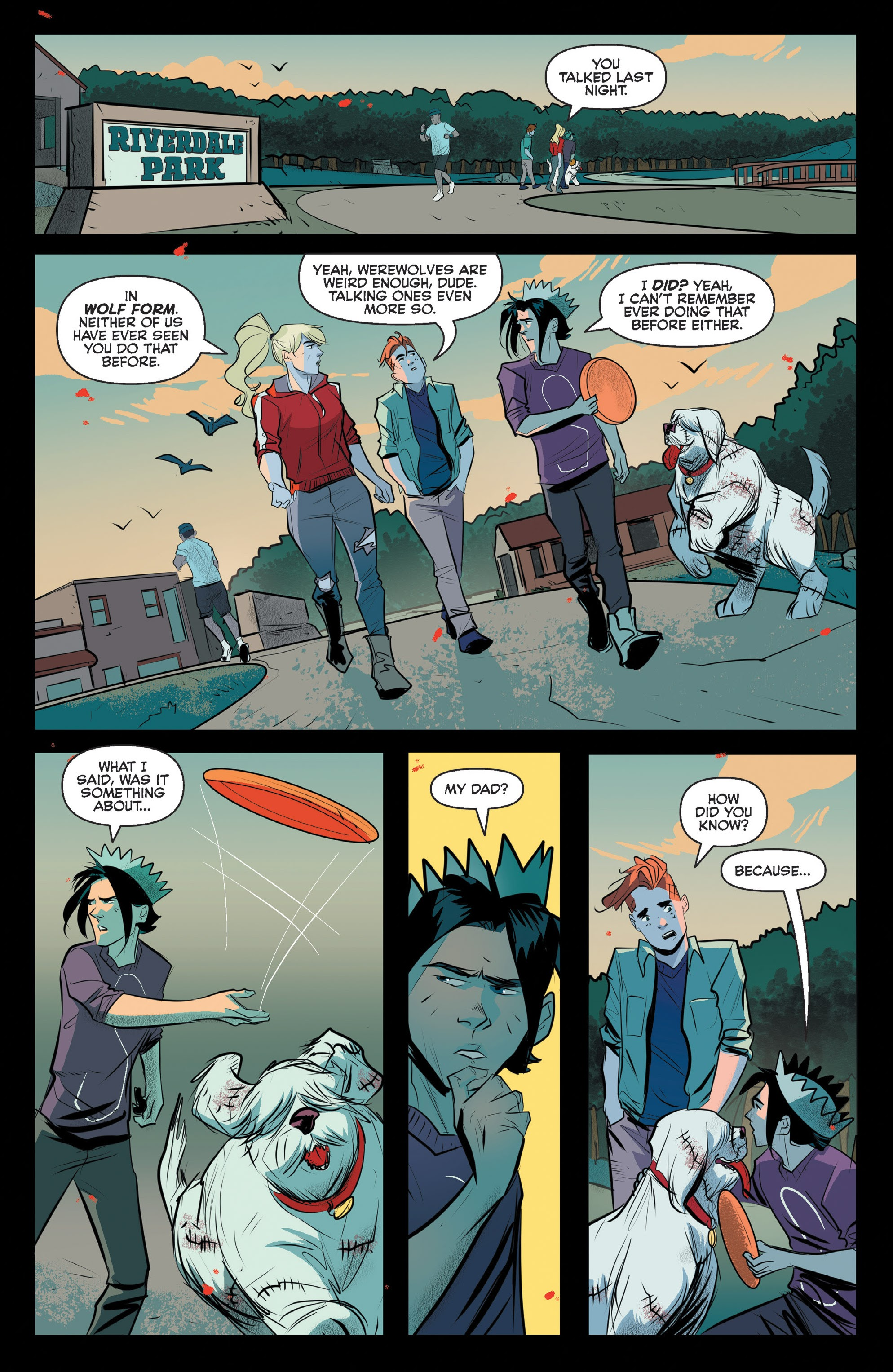 Jughead The Hunger #12 #13 - English 8