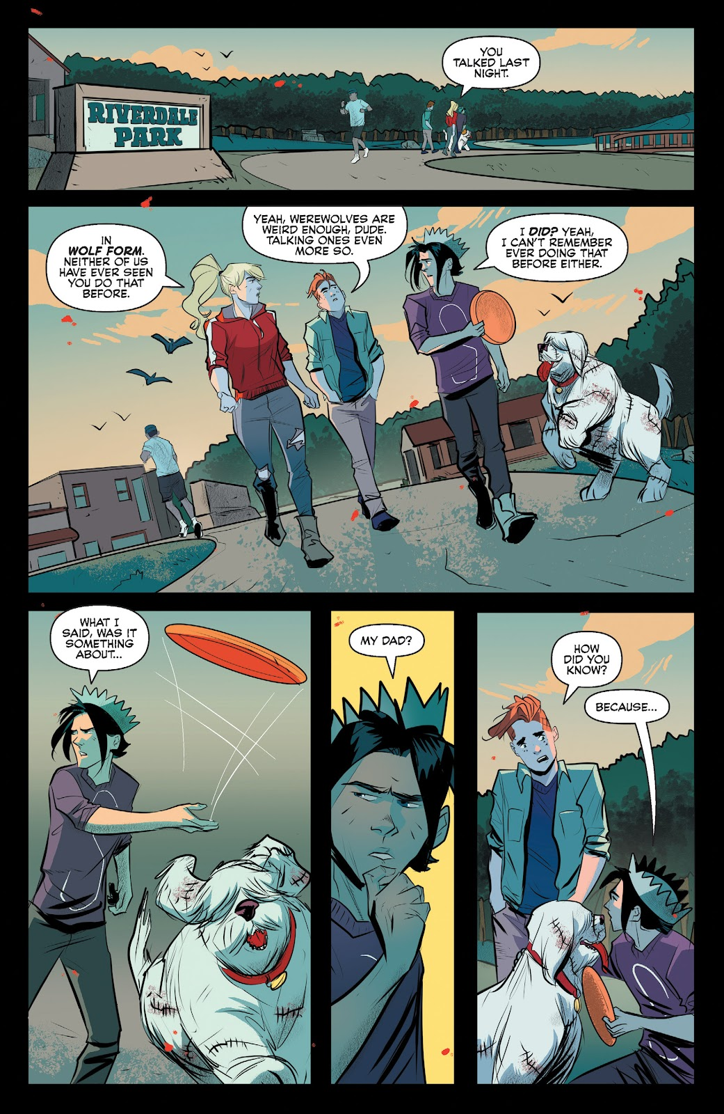 Read online Jughead The Hunger comic -  Issue #12 - 8