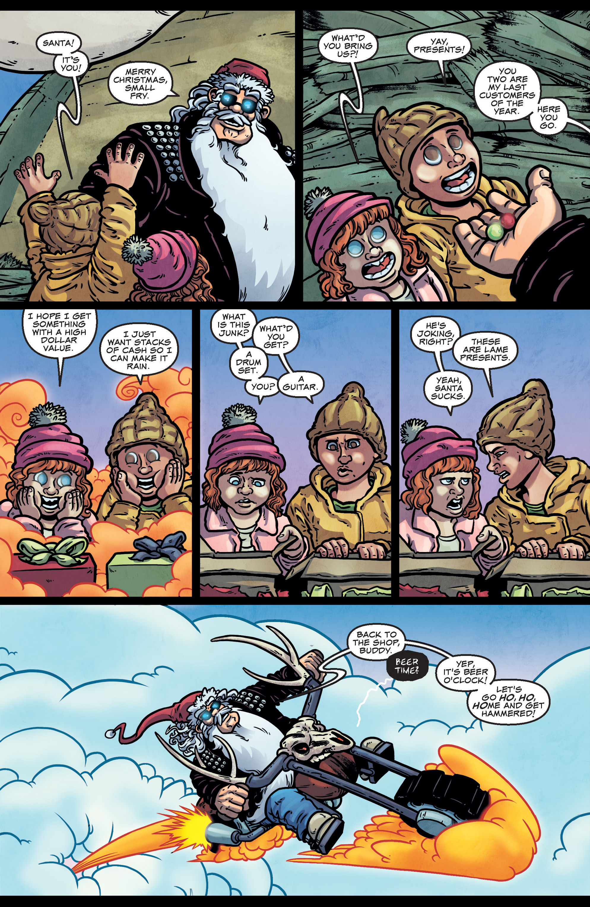 Read online Sleigher comic -  Issue #4 - 25