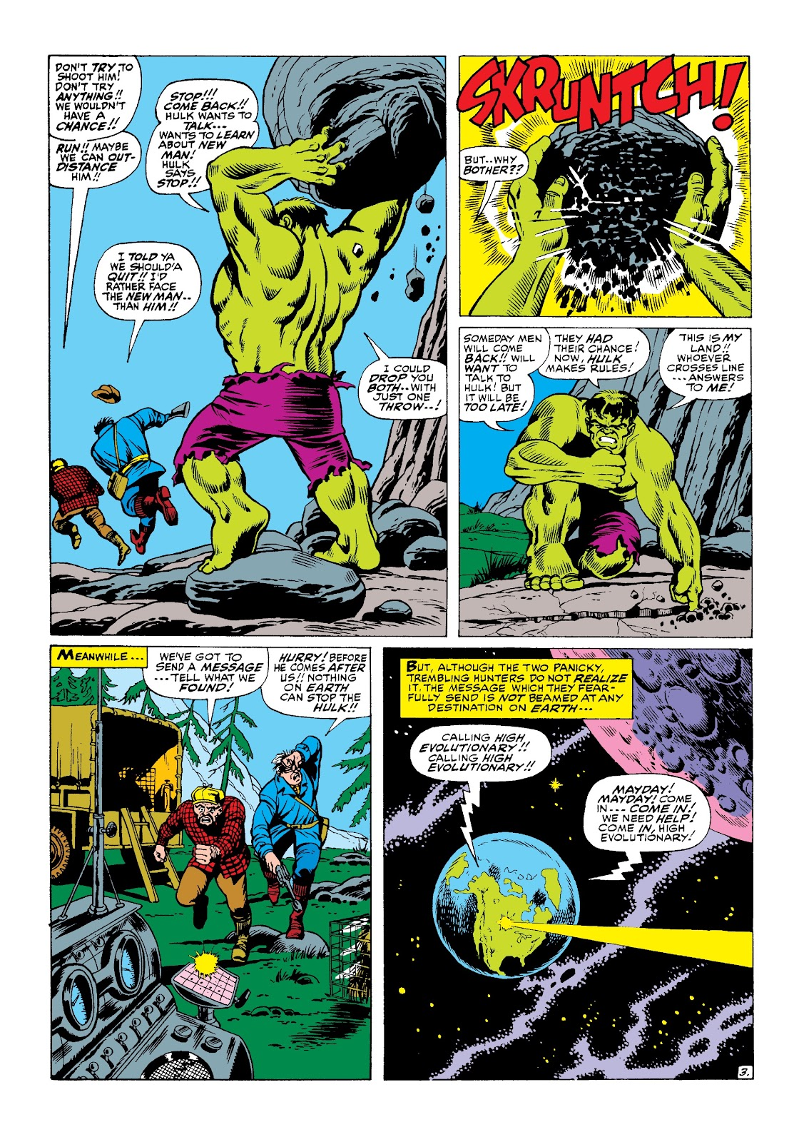 Read online Marvel Masterworks: The Incredible Hulk comic -  Issue # TPB 3 (Part 2) - 64