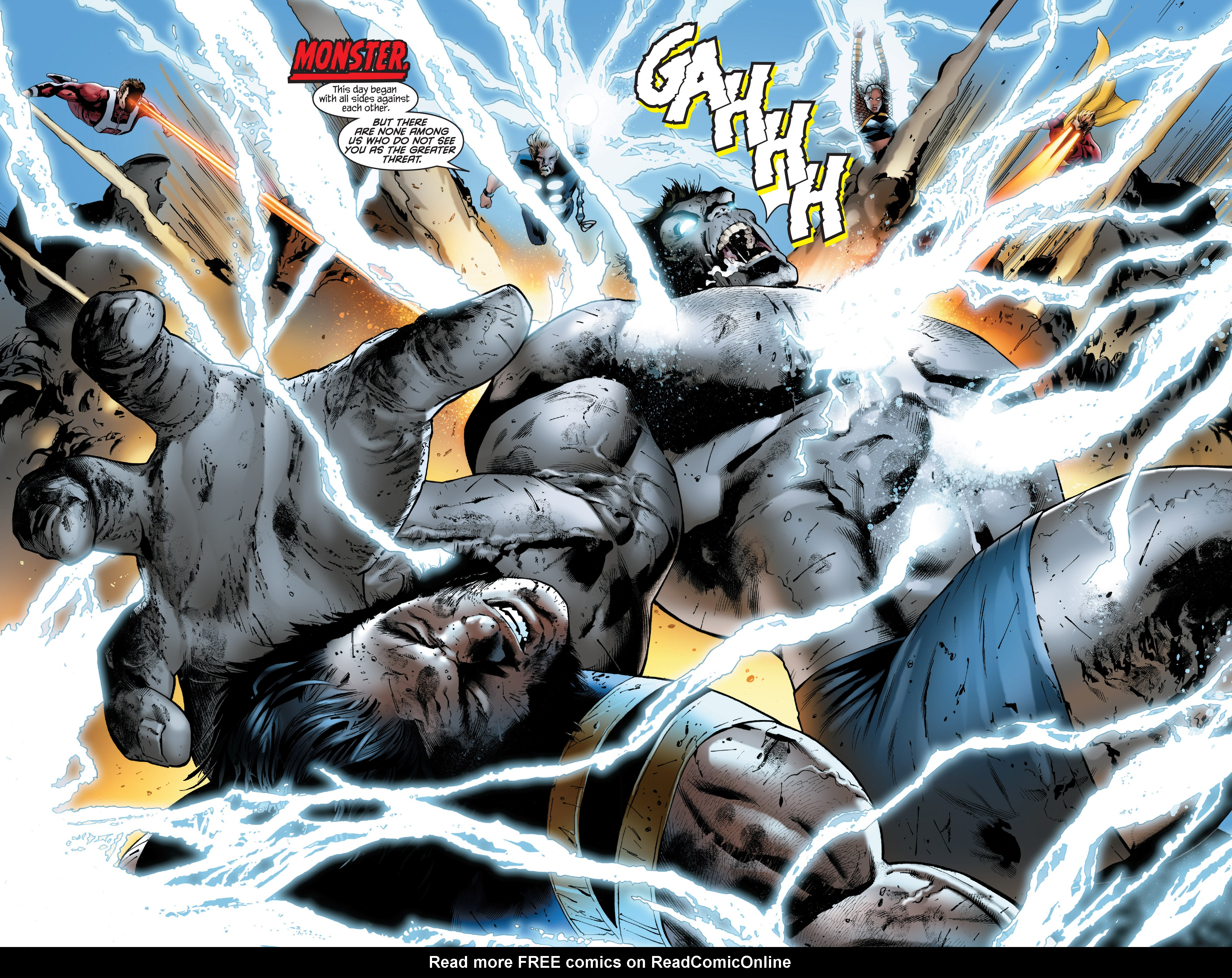 Read online Ultimate Power comic -  Issue #9 - 11