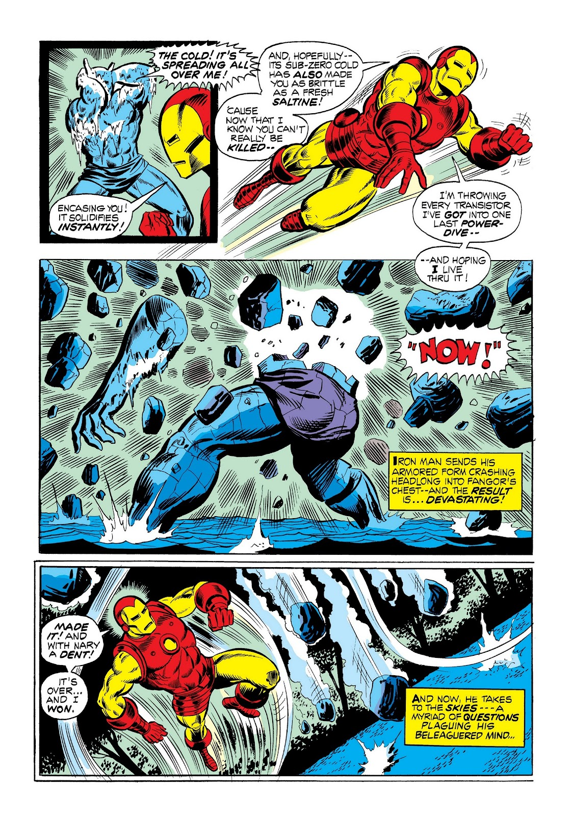 Read online Marvel Masterworks: The Invincible Iron Man comic -  Issue # TPB 9 (Part 1) - 68