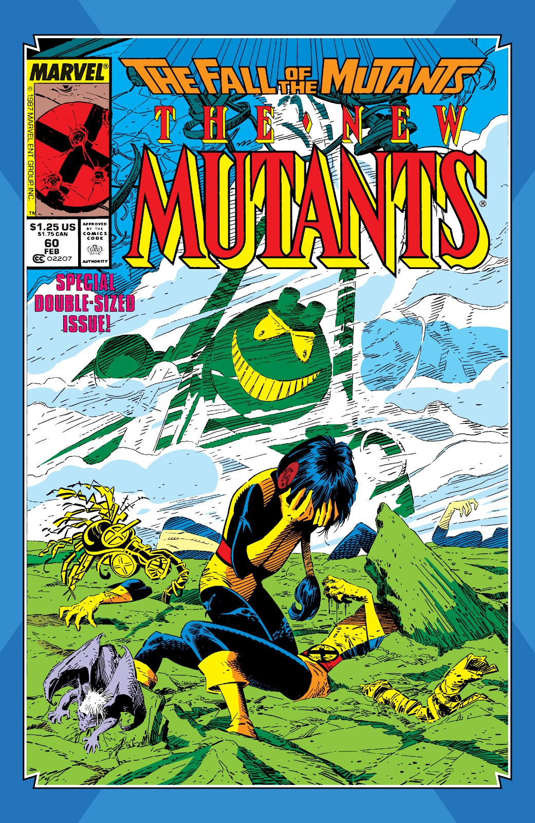 Read online X-Men Milestones: Fall of the Mutants comic -  Issue # TPB (Part 2) - 16