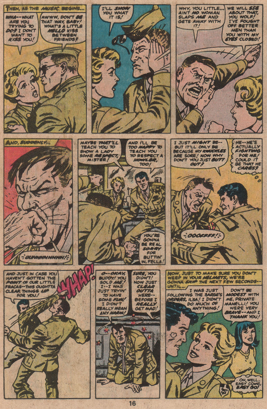 Read online Sgt. Fury comic -  Issue #142 - 18