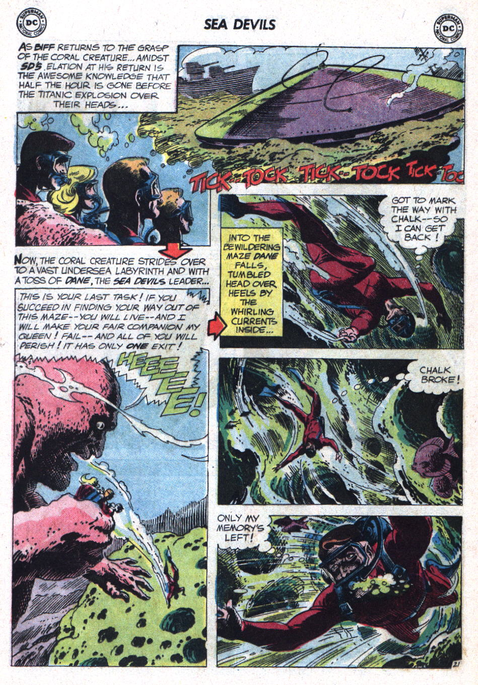 Read online Sea Devils comic -  Issue #9 - 29