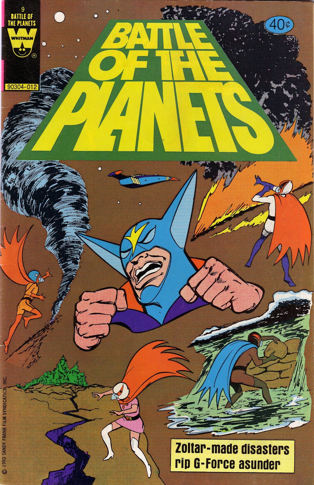 Battle of the Planets (1979) 9 Page 1