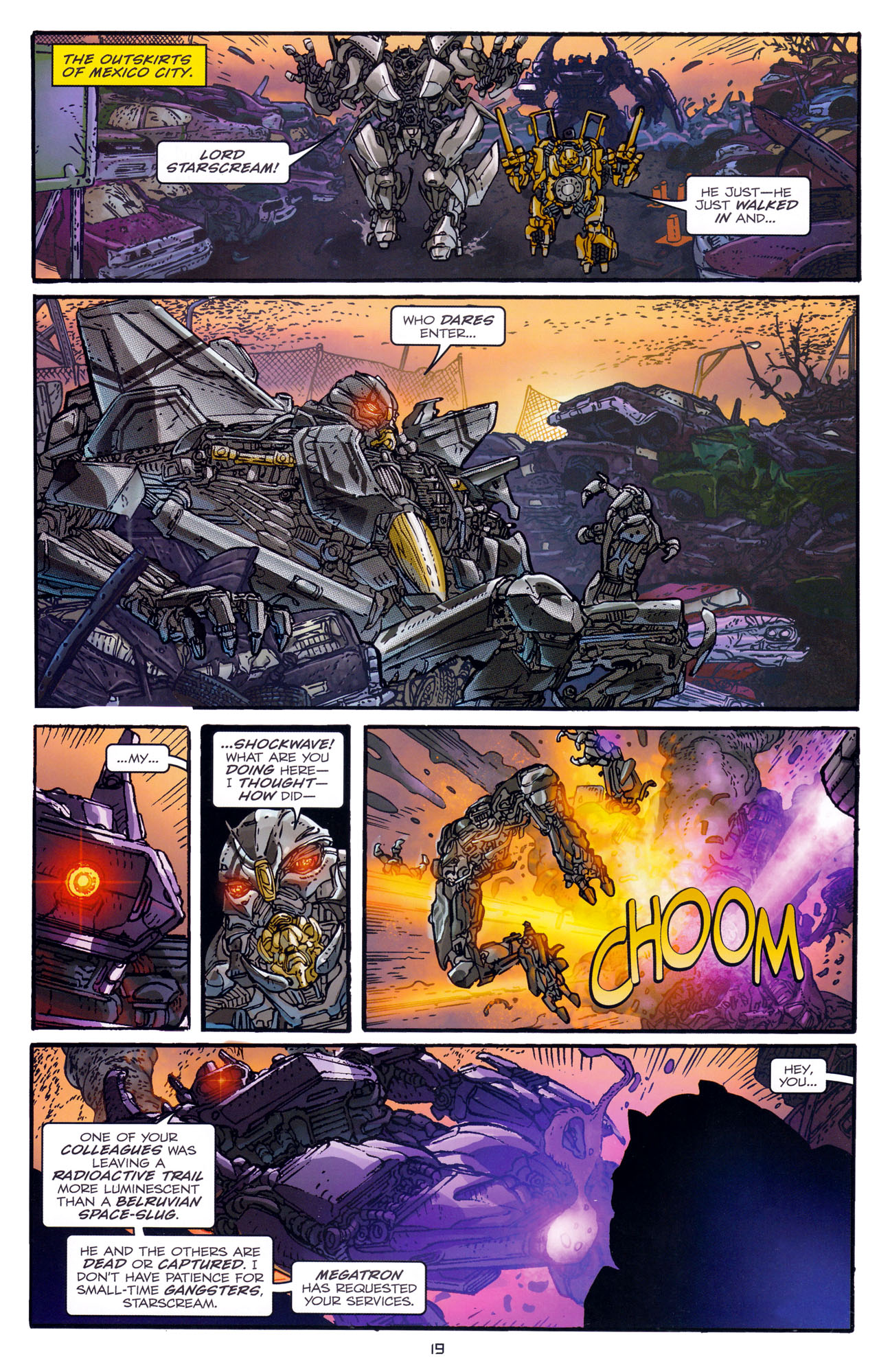 Read online Transformers: Dark of the Moon Rising Storm comic -  Issue #1 - 22