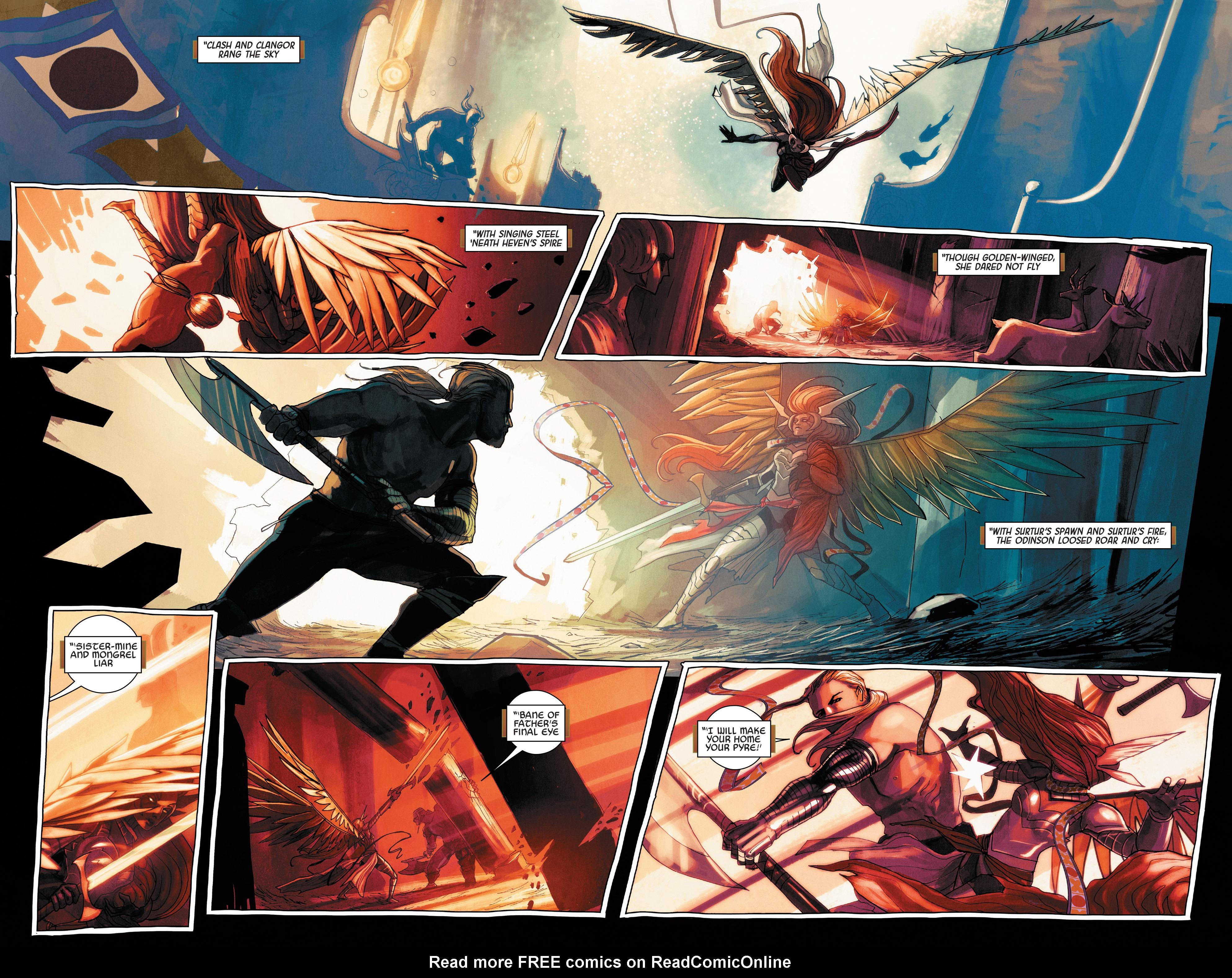 Read online Angela: Asgard's Assassin comic -  Issue #5 - 17