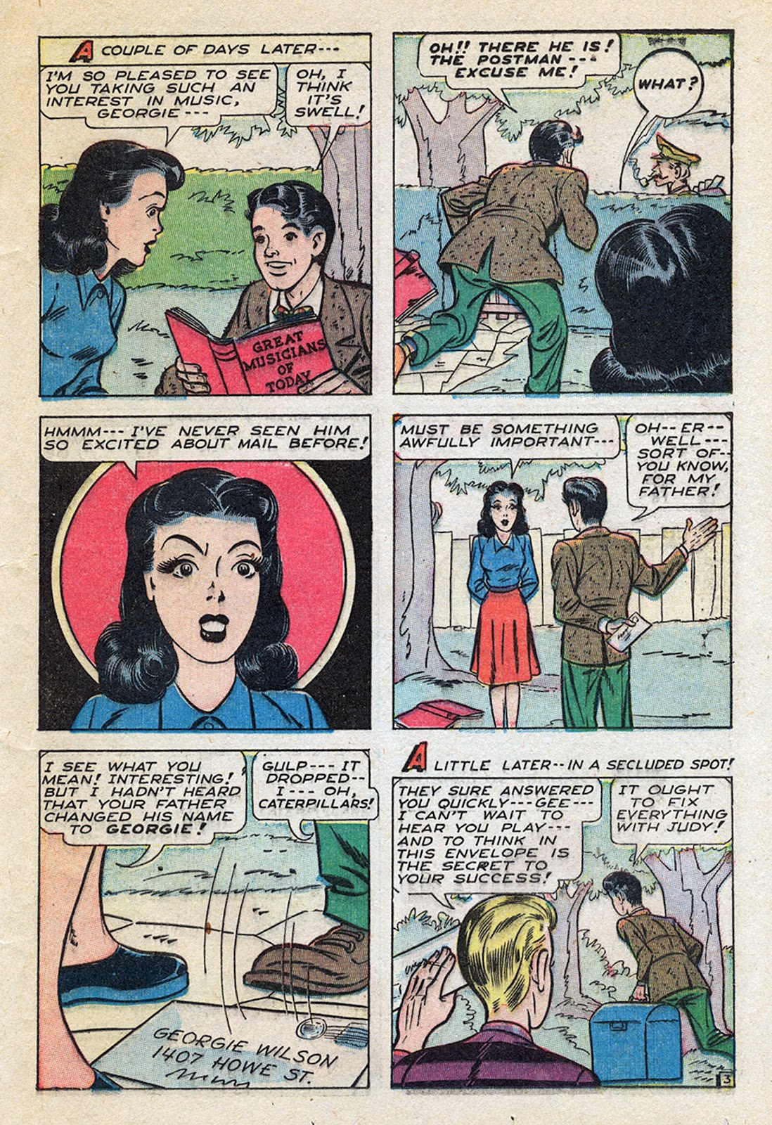 Georgie Comics (1945) issue 4 - Page 37