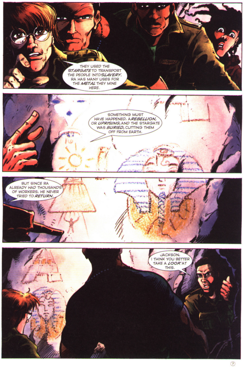 Read online Stargate comic -  Issue #2 - 9