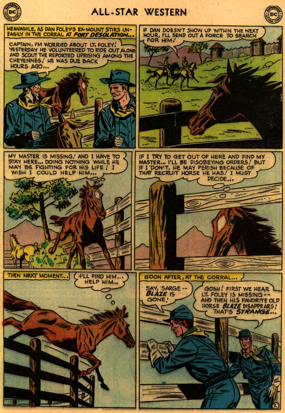 Read online All-Star Western (1951) comic -  Issue #94 - 20