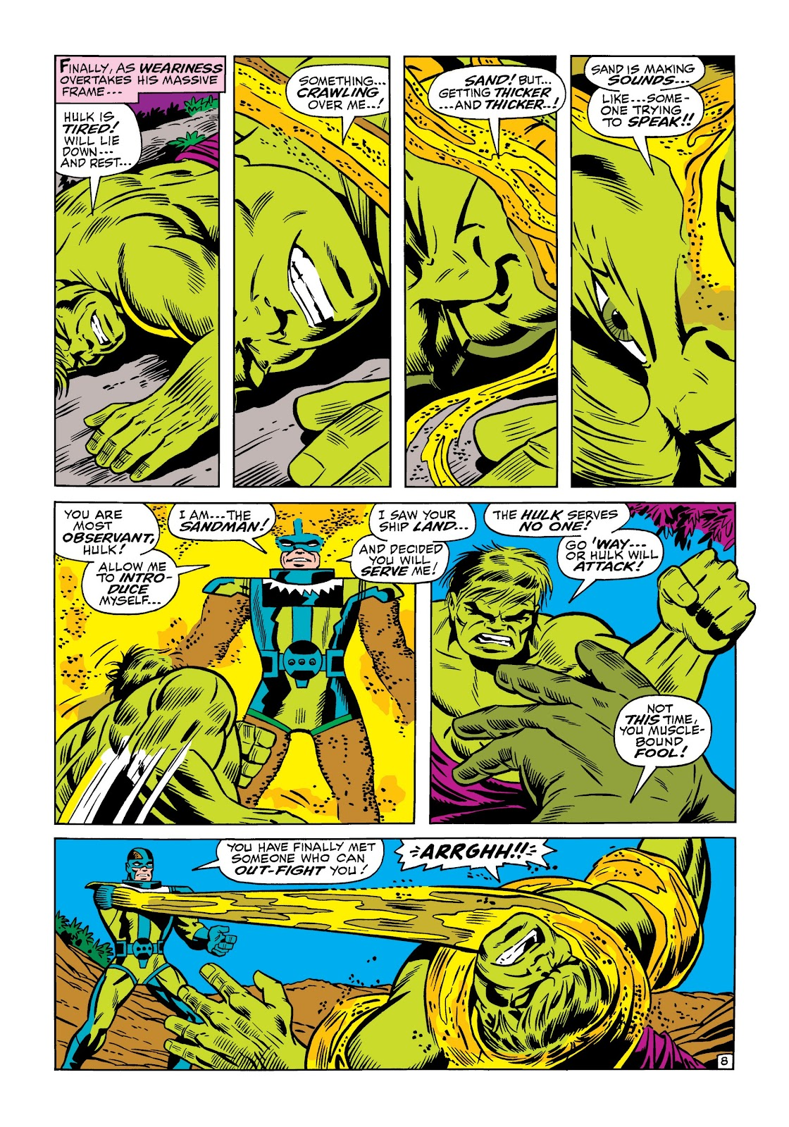 Read online Marvel Masterworks: The Incredible Hulk comic -  Issue # TPB 5 (Part 1) - 56