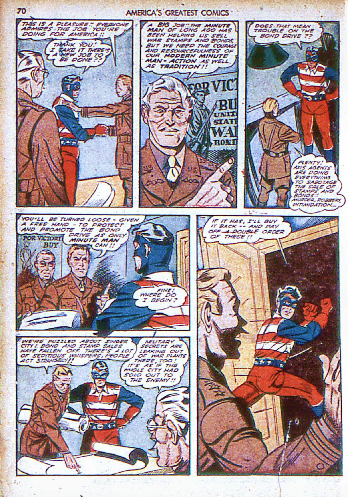 Read online America's Greatest Comics comic -  Issue #6 - 71