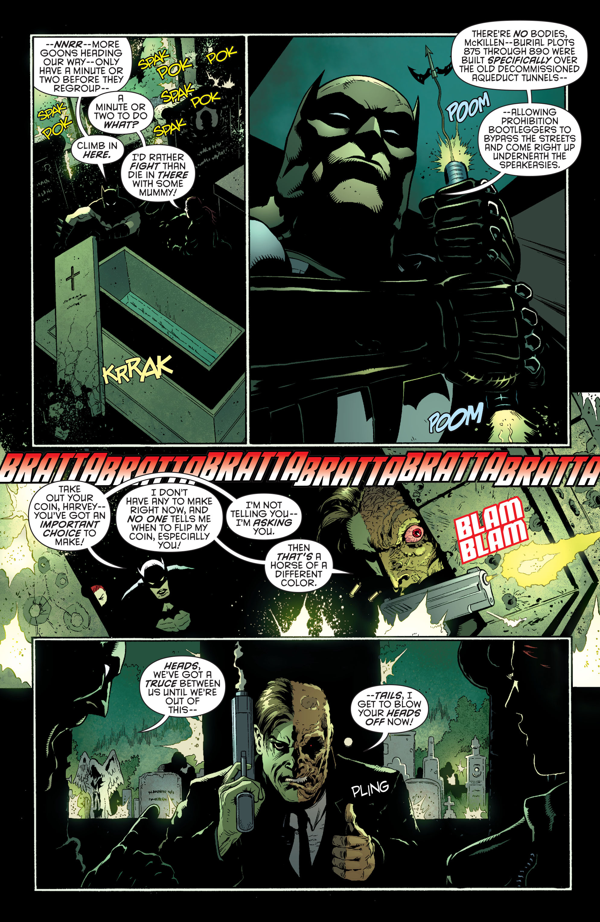 Read online Batman and Robin (2011) comic -  Issue #27 - Batman and Two-Face - 10
