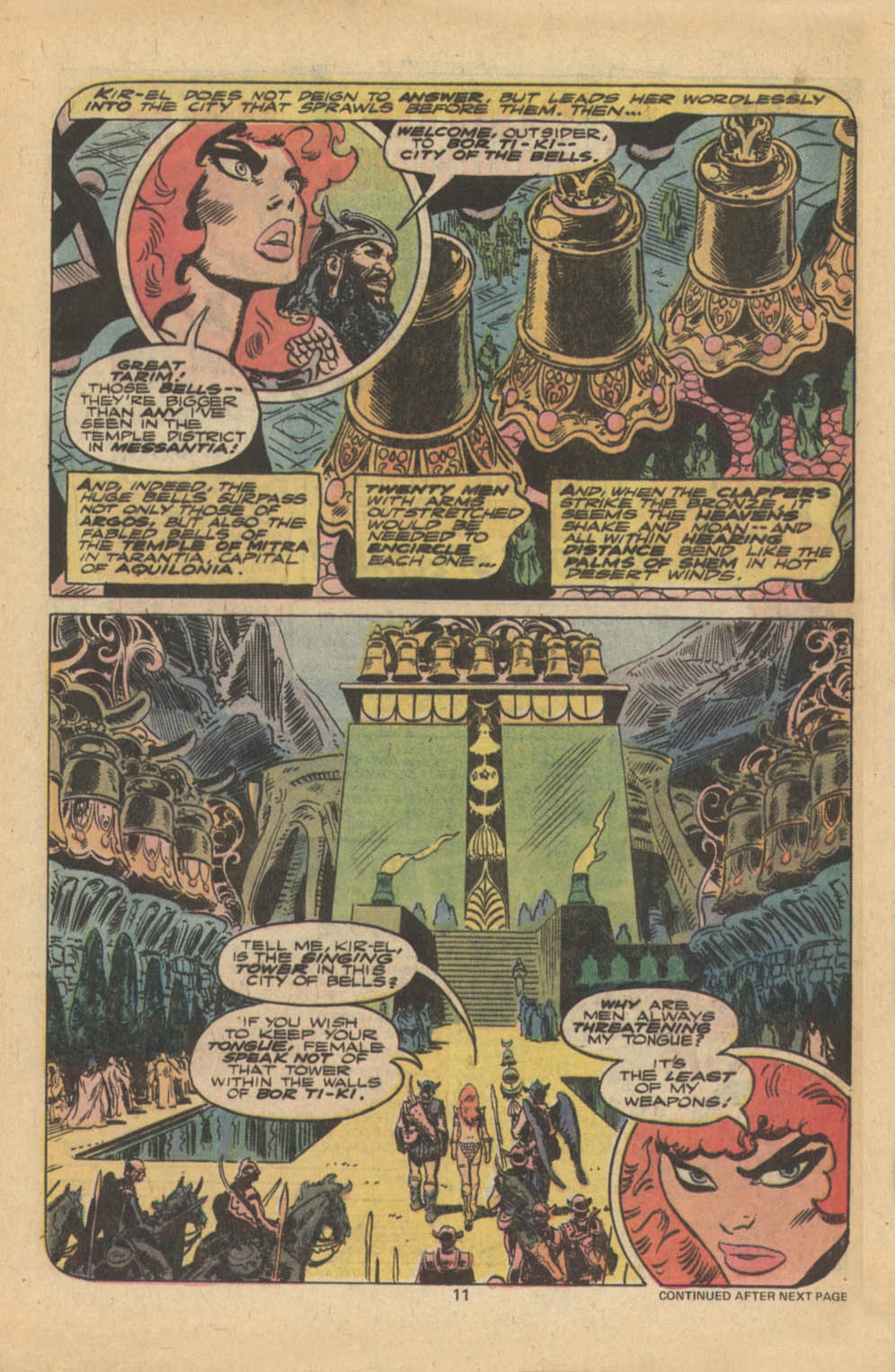 Red Sonja (1977) issue 5 - Page 8