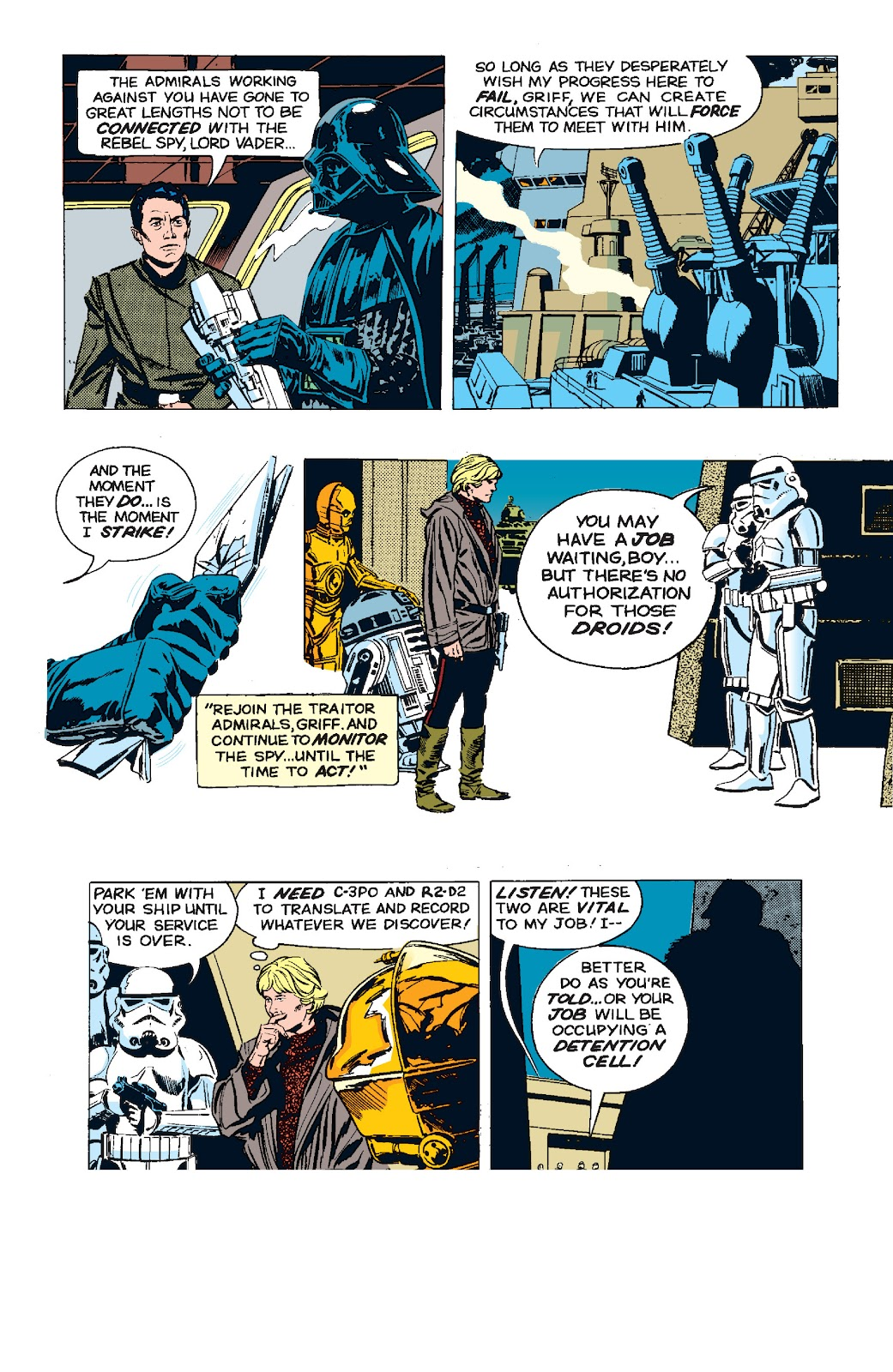 Read online Star Wars Legends: The Newspaper Strips - Epic Collection comic -  Issue # TPB (Part 5) - 44