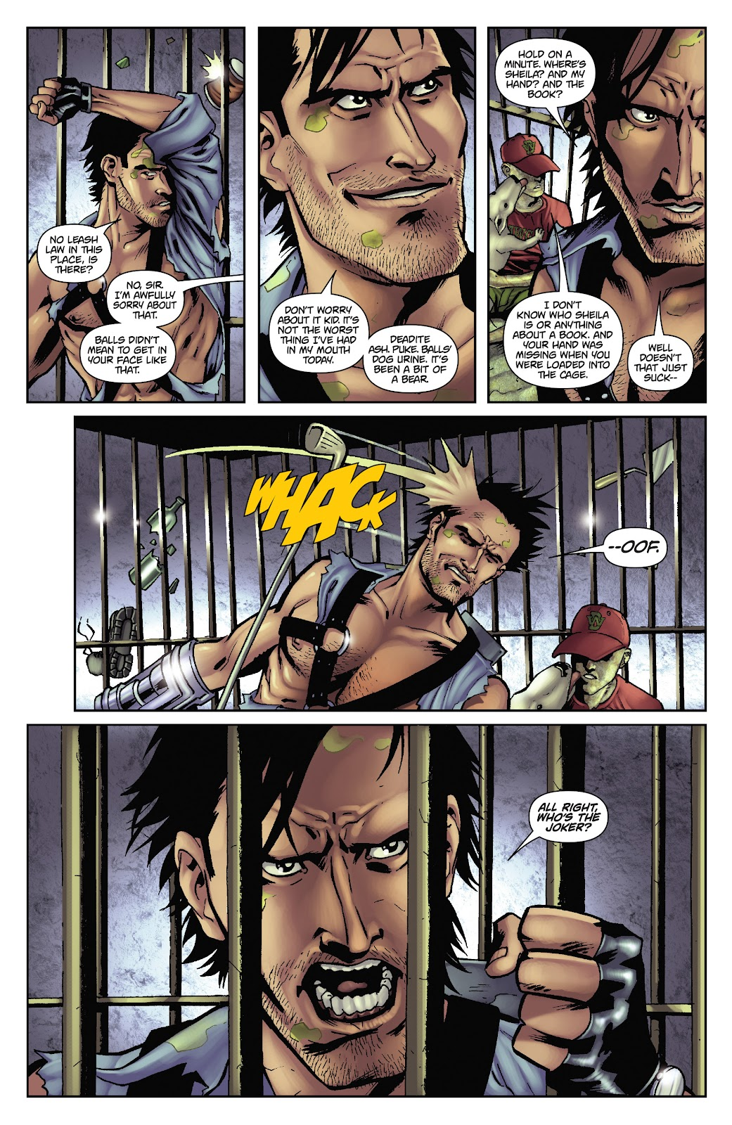 Army of Darkness: The Long Road Home issue TPB - Page 45