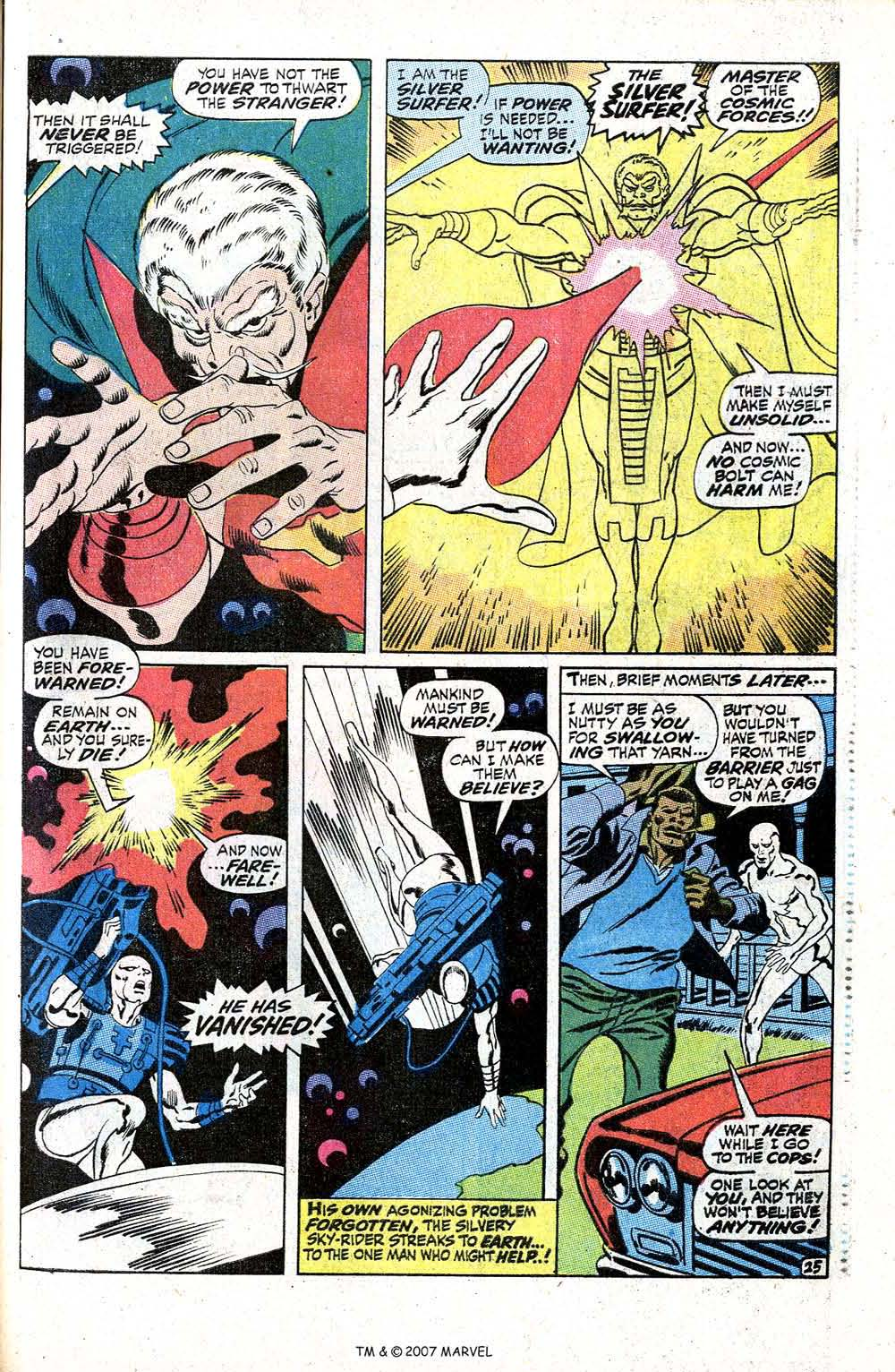 Read online Silver Surfer (1968) comic -  Issue #5 - 31