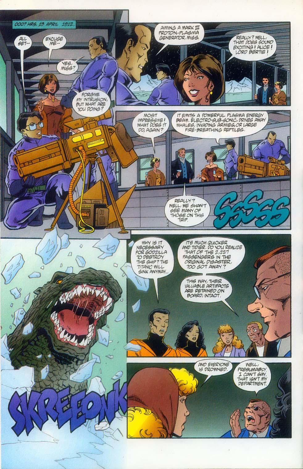 Godzilla (1995) Issue #11 #12 - English 11