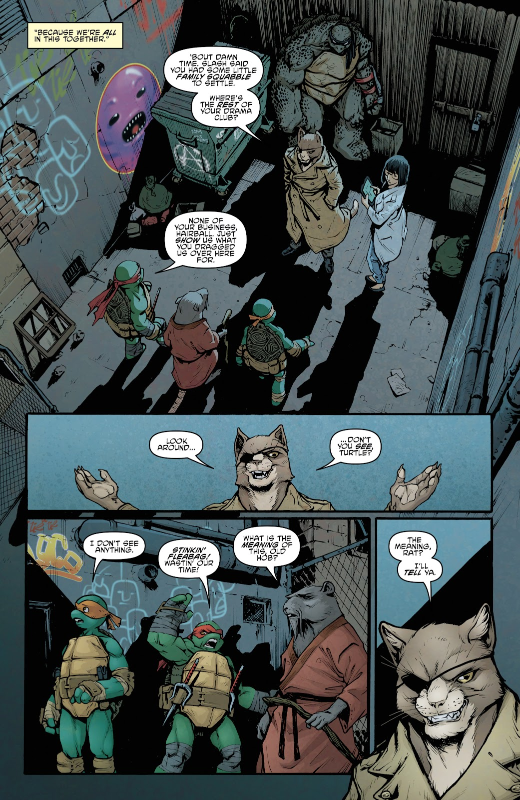 Read online Teenage Mutant Ninja Turtles: The IDW Collection comic -  Issue # TPB 5 (Part 2) - 16
