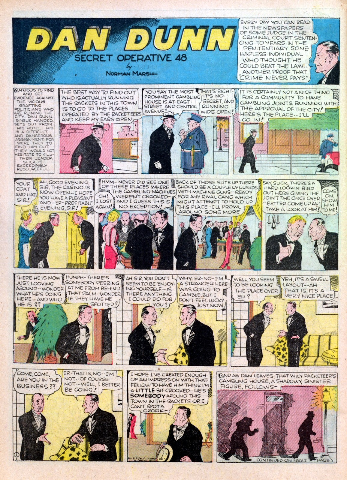 Read online Famous Funnies comic -  Issue #16 - 56