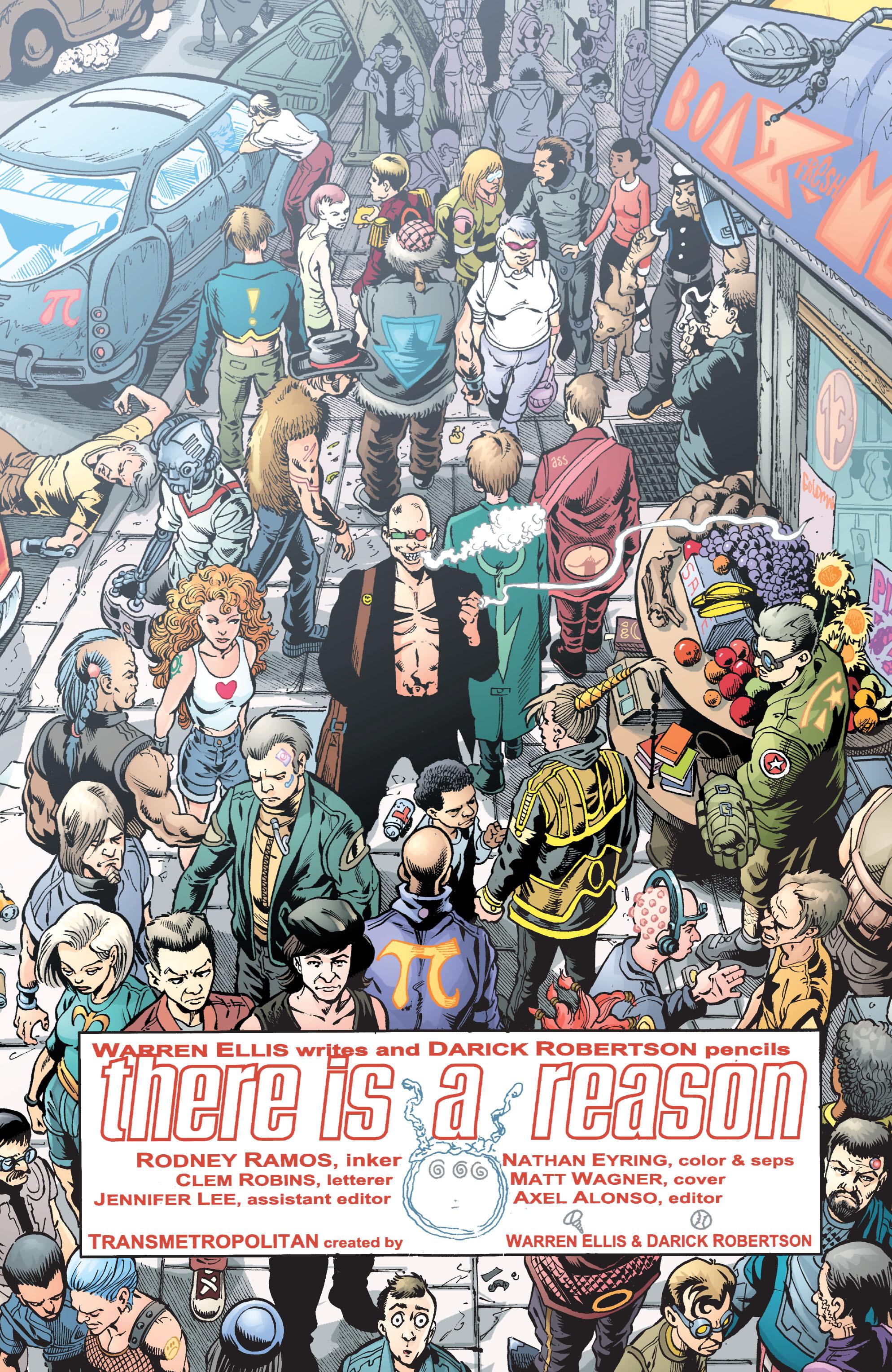 Read online Transmetropolitan comic -  Issue #41 - 10